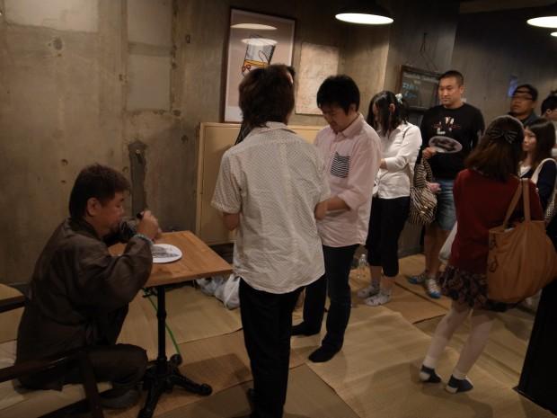 ファンキー中村さんサイン会