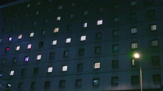 ホラー映画、病院